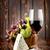 стекла · бутылку · сыра · виноград · изолированный - Сток-фото © givaga
