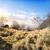 синий · гор · холмы · закат · красивой · оранжевый - Сток-фото © givaga