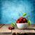 フルーツ · 甘い · 赤 · チェリー · 青 - ストックフォト © givaga
