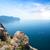 manzara · dağlar · deniz · gökyüzü · orman - stok fotoğraf © givaga