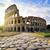 colosseum · şafak · geri · ışık · gökyüzü - stok fotoğraf © givaga