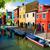 színes · házak · Olaszország · panoráma · épület · festék - stock fotó © givaga