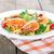 espaguetis · aislado · blanco · restaurante · verde - foto stock © givaga