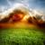 Thunder · Молния · области · облачный · небе · облака - Сток-фото © givaga