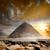 piramis · nap · San · Juan · Mexikó · város · kő - stock fotó © givaga