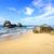sable · pierres · eau · vague · plage · résumé - photo stock © givaga