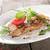 disznóhús · steak · fából · készült · tányér · stock · fotó - stock fotó © givaga