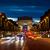 Arc · de · Triomphe · cielo · blu · Parigi · Francia · cielo · costruzione - foto d'archivio © givaga