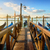 gondolas and pier stock photo © givaga