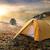 tent on mountain stock photo © givaga