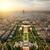パノラマ · パリ · センター · 建物 · 都市 · スカイライン - ストックフォト © givaga