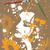 холст · грязный · Гранж · Живопись · женщину · цветы - Сток-фото © gleighly