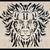 büszkeség · oroszlán · törzsi · tetoválás · illusztráció · természet - stock fotó © gleighly
