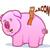 Bacon Pig Cartoon stock photo © gleighly
