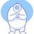полярный · медведь · Cartoon · белый · несут · рук · глядя - Сток-фото © gleighly