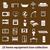 domu · wyposażenie · ikona · wektora · kawy - zdjęcia stock © glorcza