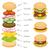 ハンバーガー · レタス · トマト · チーズ · 肉 · 食品 - ストックフォト © glorcza