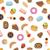 padrão · sem · costura · alimentos · doces · textura · comida - foto stock © glorcza