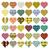 сердцах · прибыль · на · акцию · глобальный · цветами · счастливым - Сток-фото © glorcza