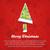 papír · karácsonyi · üdvözlet · terv · zöld · csíkos · előtér - stock fotó © glorcza