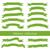green ribbons stock photo © glorcza