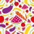 fruits and vegetables seamless pattern stock photo © glorcza