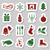 christmas stickers stock photo © glorcza