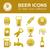 beer icons stock photo © glorcza