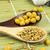 ayçiçeği · tohumları · fındık · kaşık · gıda · arka · plan - stok fotoğraf © gloszilla