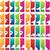 抽象的な · レイアウト · セット · 現代 · カラフル - ストックフォト © glyph