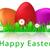 красивой · Пасху · яйца · фон · стороны · дизайна - Сток-фото © glyph