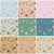 large set of seamless vintage floral backgrounds stock photo © glyph