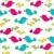 aranyos · madarak · végtelenített · vektor · absztrakt · háttér - stock fotó © glyph