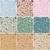 vector · ingesteld · gedetailleerd · grunge · verf · muur - stockfoto © glyph