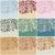 set of nine vintage floral backgrounds stock photo © glyph