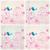 Sammlung · cute · dekorativ · Vögel · Grußkarte · Blume - stock foto © glyph