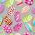 seamless cute easter eggs background stock photo © glyph