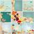 szett · aranyos · ősz · illusztrációk · vektor · kézzel · rajzolt - stock fotó © glyph