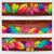colorful autumn leaves banners stock photo © glyph