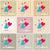 düğün · kartları · toplama · ayarlamak · stil - stok fotoğraf © glyph