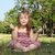 little girl meditates in nature stock photo © goce