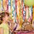 speelgoed · beer · verjaardag · hoed · geïsoleerd · witte - stockfoto © goce