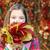 女の子 · 秋 · カラフル · 公園 - ストックフォト © goce