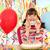 happy little girl birthday party stock photo © goce