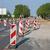 road construction roadwork signs on street stock photo © goce