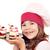 szczęśliwy · dziewczynka · gotować · portret · uśmiech · dziecko - zdjęcia stock © goce