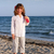 playa · melodía · hermosa · niña · bikini · gafas · de · sol - foto stock © goce