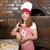 pişirmek · pizza · dilimleri · jambon · gıda · adam - stok fotoğraf © goce
