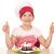 szczęśliwy · dziewczynka · gotować · deser · dziecko · owoców - zdjęcia stock © goce
