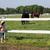 szczęśliwy · dziewczynka · cowboy · hat · ranczo · dziewczyna · dziedzinie - zdjęcia stock © goce